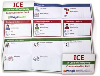 ICE Card 20 Pack