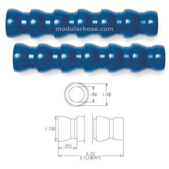 "Loc-Line 3/4""ID System Hose Segment Pack - 1 Foot"