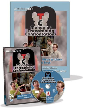 Managing Threatening Confrontations DVD - Bridges Canada