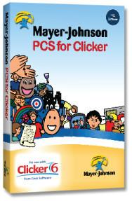 PCS Symbols for Clicker 6 5 computers One School license