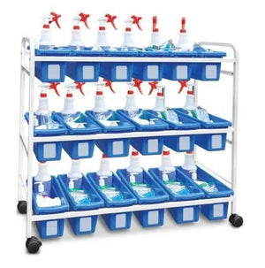 Personal Storage Tub Cart - Base Model - Bridges Canada