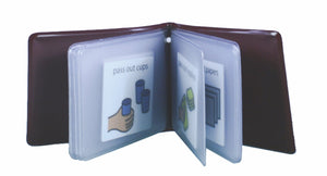 Pocket Size Communication Book with Grommet - Bridges Canada