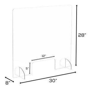 Portable Acrylic Panel with Opening - Bridges Canada
