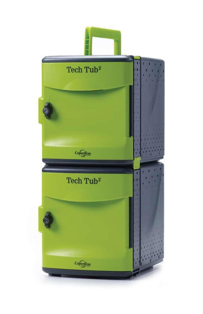 Premium Tech Tub2 - holds 10 devices