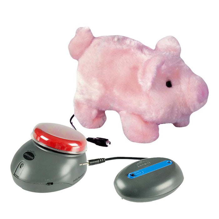 Pudgy the pig w/ Switch Device