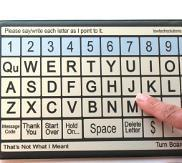 QWERTY Low Tech Communication Board (Extra Small) - Bridges Canada