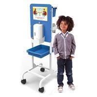 Single Student Hand Sanitizer Station - Premium Model - Dispenser sold separately - Bridges Canada