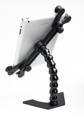 "tabX Tablet Holder with 8"" Arm and Desktop Base"