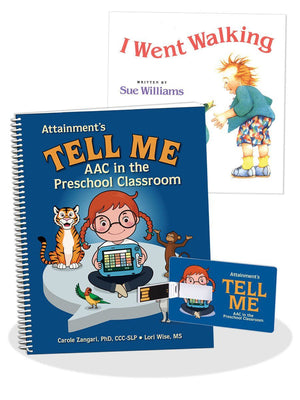 Tell Me Program - AAC in the Preschool Classroom - Bridges Canada