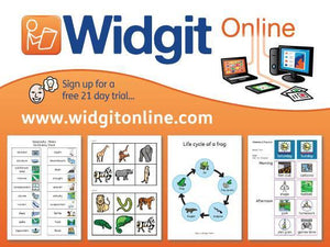 Widgit Online Monthly Subscription - Bridges Canada