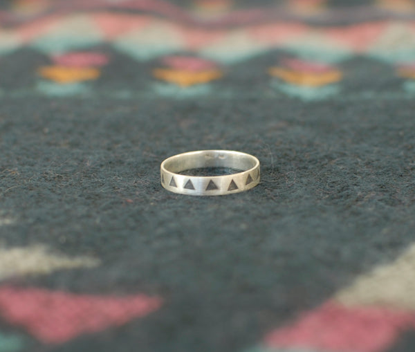 Aztec Triangle ring