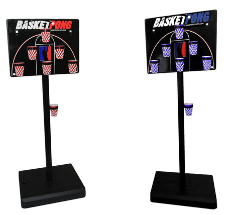 BasketPong Full Court Set