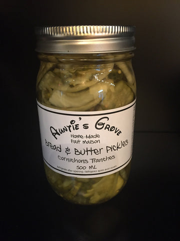 Auntie's Grove Bread & Butter Pickles