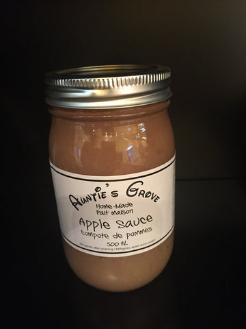 Auntie's Grove Apple Sauce