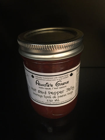 Auntie's Grove Hot Red Pepper Jelly