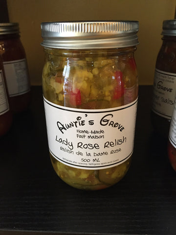 Auntie's Grove Lady Rose Relish