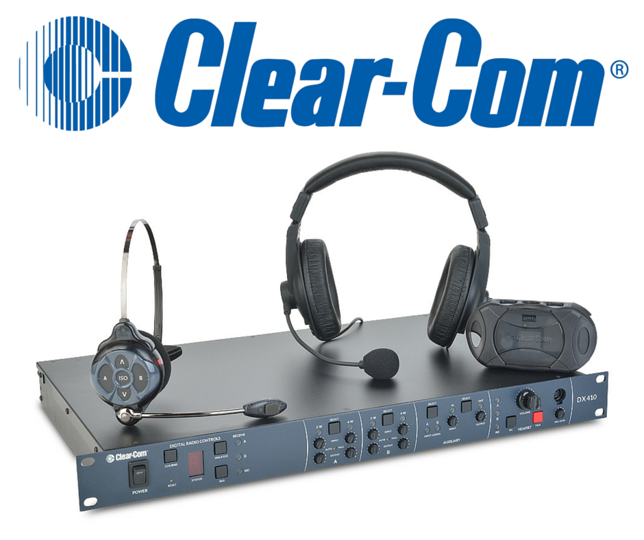New Release: Clear-Com DX410 Wireless Intercom System