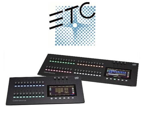 New Release: ETC ColorSource Consoles