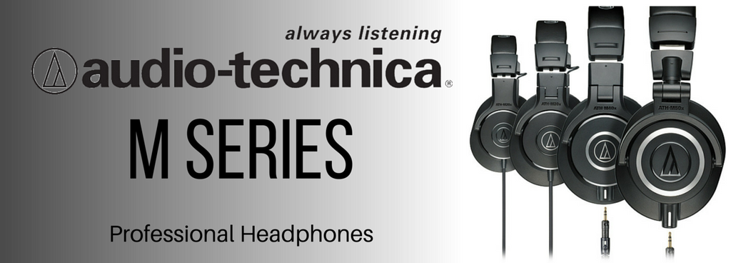 Audio Technica M Series Professional Headphones