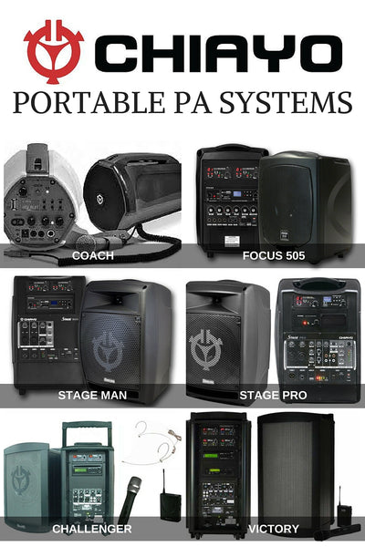Chiayo Portable PA Systems