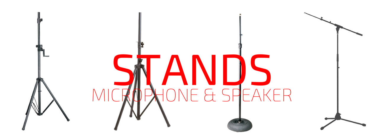 Microphone & Speaker Stands