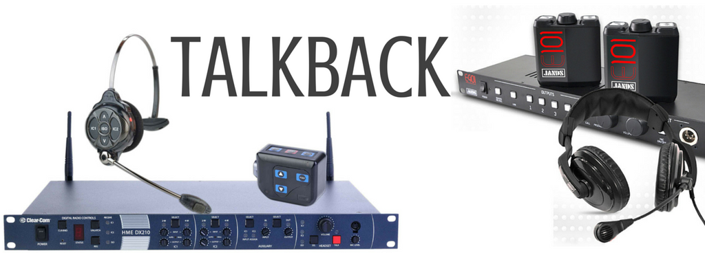 Theatrical Talkback | Intercom Systems – Macsound Electronics ...