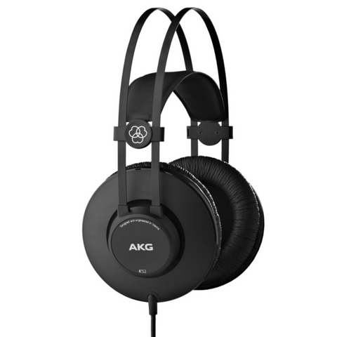 AKG K52 Closed-Back Headphones - Macsound Electronics & Theatrical Supplies