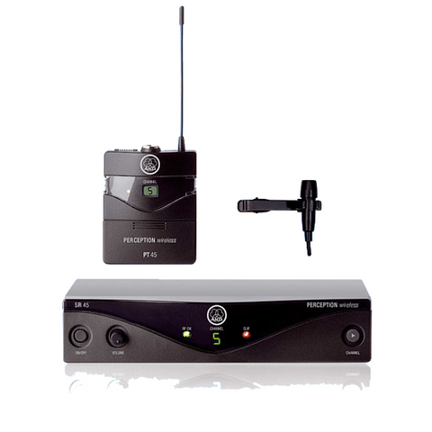 AKG PW45PTLA Perception Wireless Presenter Set Microphone System - Macsound Electronics & Theatrical Supplies