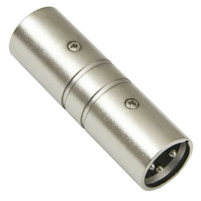Australian Monitor ATC6710 Adaptor - XLR Gender Changer – Male XLR3 at both ends - Macsound Electronics & Theatrical Supplies