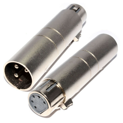 Australian Monitor ATC6840 Adaptor - XLR3M to XLR5F DMX - Macsound Electronics & Theatrical Supplies