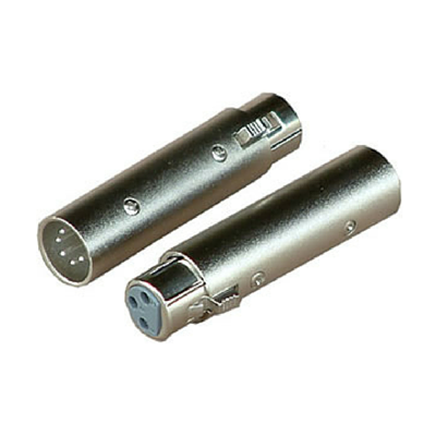 Australian Monitor ATC6841 Adaptor - XLR-3F to XLR-5M DMX - Macsound Electronics & Theatrical Supplies