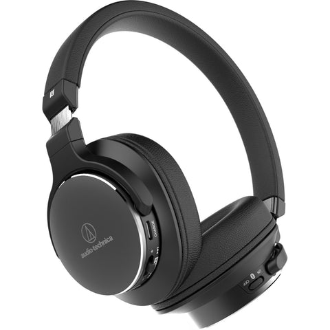 Audio Technica ATH-SR5BT Bluetooth Wireless Hi-Res Audio Headphones - Macsound Electronics & Theatrical Supplies
