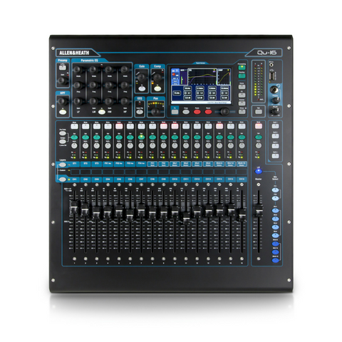 Allen & Heath Qu-16 Digital Mixer - Macsound Electronics & Theatrical Supplies