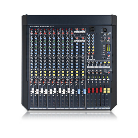 Allen & Heath MIXWIZARD WZ3 14:4:2 Mixer - Macsound Electronics & Theatrical Supplies