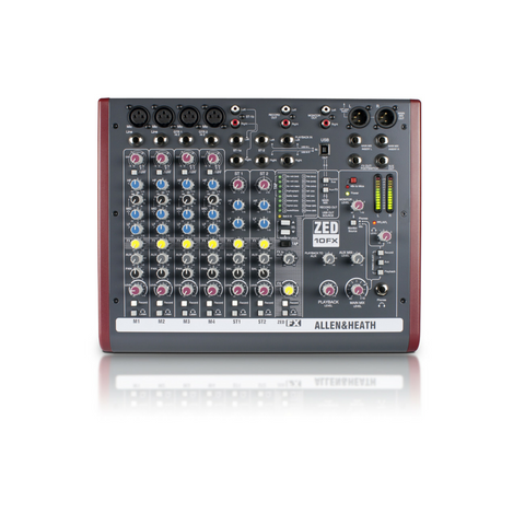 Allen & Heath ZED-10FX Mixer - Macsound Electronics & Theatrical Supplies