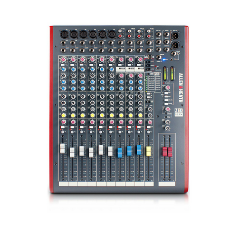 Allen & Heath ZED-12FX Mixer - Macsound Electronics & Theatrical Supplies