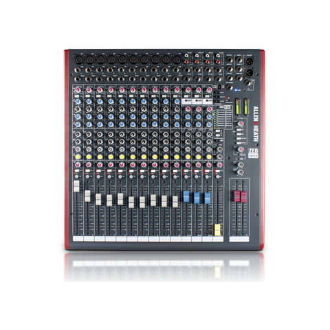 Allen & Heath ZED-16FX Mixer - Macsound Electronics & Theatrical Supplies