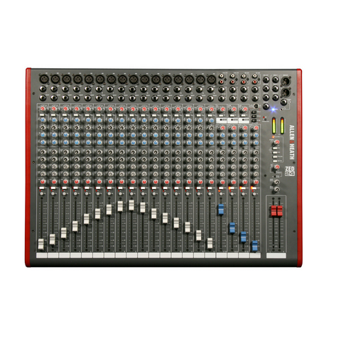 Allen & Heath ZED-24 Mixer - Macsound Electronics & Theatrical Supplies