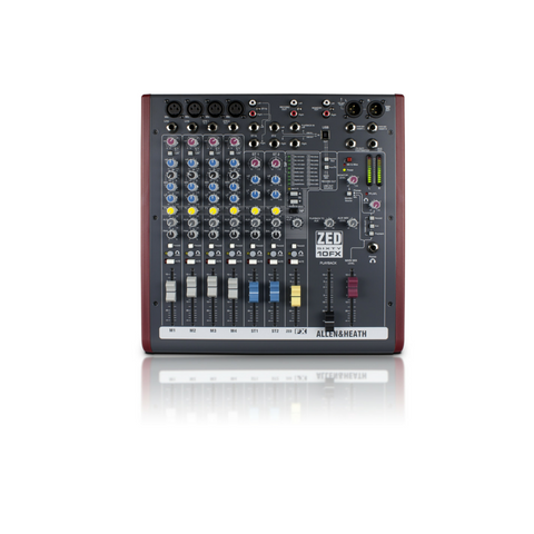 Allen & Heath ZED60-10FX Mixer - Macsound Electronics & Theatrical Supplies