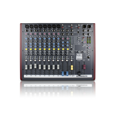 Allen & Heath ZED60-14FX Mixer - Macsound Electronics & Theatrical Supplies