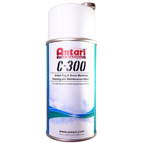 Antari C300 Fog & Snow Machine Cleaning Solution - Macsound Electronics & Theatrical Supplies