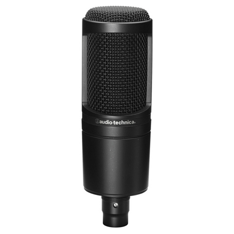 Audio Technica AT2020 Cardioid Condenser Microphone - Macsound Electronics & Theatrical Supplies