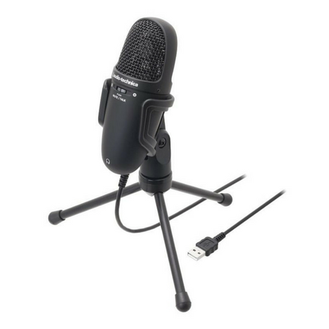 Audio Technica AT9934USB Cardioid Condenser USB Microphone - Macsound Electronics & Theatrical Supplies