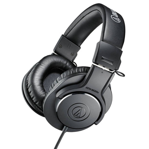 Audio Technica ATH-M20x Professional Monitor Headphones - Macsound Electronics & Theatrical Supplies