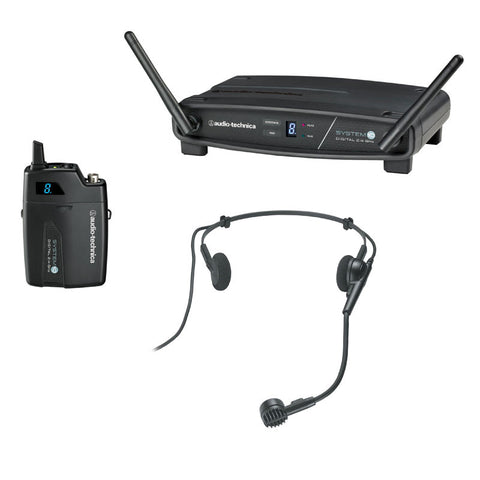Audio Technica ATW-1101/H System10 2.4GHz Digital Wireless Headworn System - Macsound Electronics & Theatrical Supplies