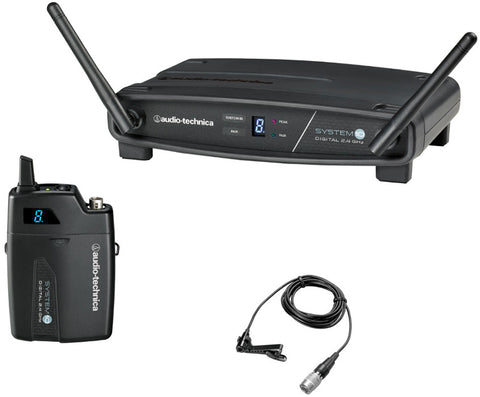 Audio Technica ATW-1101/L System10 2.4GHz Digital Wireless Lapel System - Macsound Electronics & Theatrical Supplies