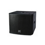 "Beta3 MU18Ba High Power 500w Powered Front Loaded Single 18"" Subwoofer - Macsound Electronics & Theatrical Supplies"