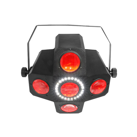 Chauvet DJ Circus 2.0 IRC DJ LED Effect with SMD Strobe Halo IRC - Macsound Electronics & Theatrical Supplies