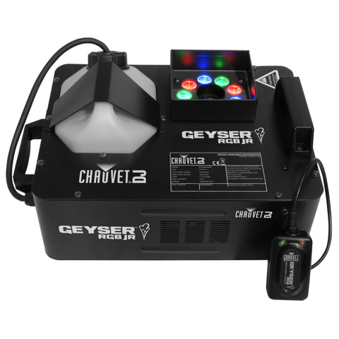 Chauvet DJ GEYSER-JR	RGB 690 watt Smoke Machine - Macsound Electronics & Theatrical Supplies
