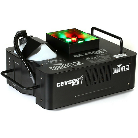 Chauvet DJ GEYSER RGB 1500 watt Smoke Machine - Macsound Electronics & Theatrical Supplies